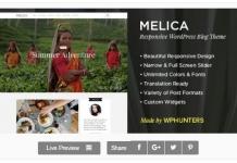 Melica WordPress Theme 218x150 - [워드프레스] 이 달의 무료 테마/플러그인 - 2016년 3월