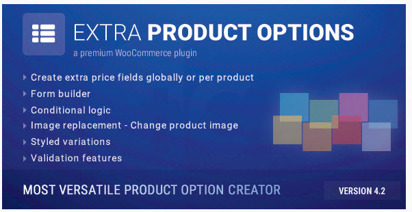 Extra Product Option Plugin