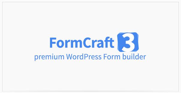 [워드프레스] 프리미엄 폼 빌더 플러그인 – FormCraft