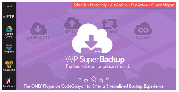 Super Backup and Clone WordPress plugin