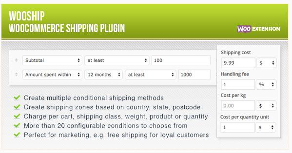 WooShip - WooCommerce Shipping Plugin