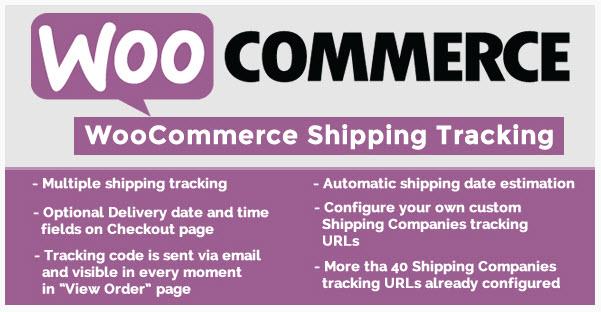 woocommerce shipping Tracking Plugin - 워드프레스 우커머스 배송 추적 플러그인