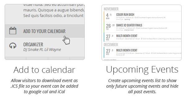 Add to calendar