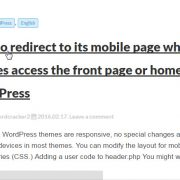 Change title url of a specific post in WordPress