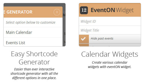 Easy Shortcode Generator