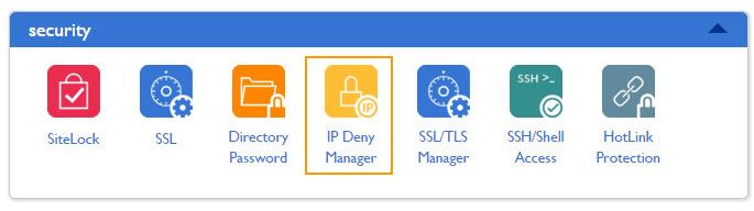 IP Deny Manager