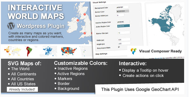 Interactive World Maps
