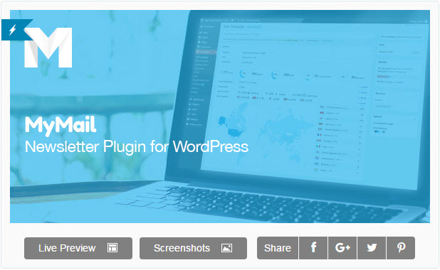 MyMail - Email Newsletter Plugin for WordPress