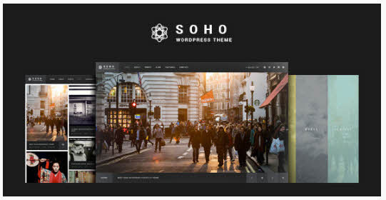 SOHO - Fullscreen Photo & Video WordPress Theme