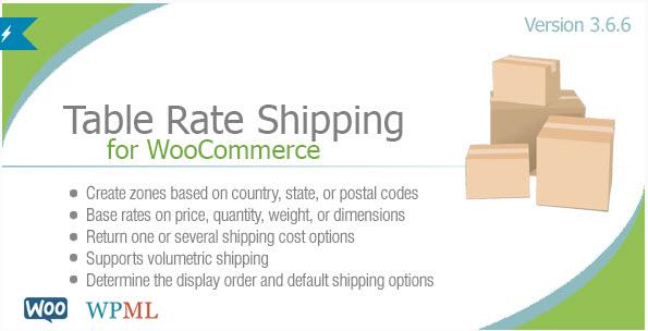 [워드프레스] 다양한 조건에 따라 배송비를 다르게 지정해주는 Table Rate Shipping for WooCommerce 플러그인