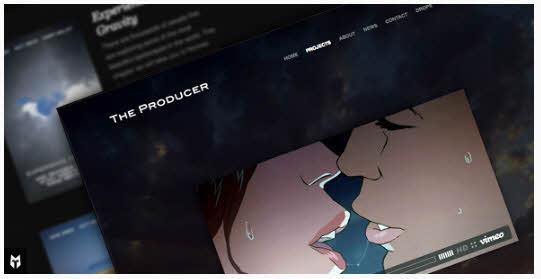 The Producer - Responsive Film Studio WP Theme