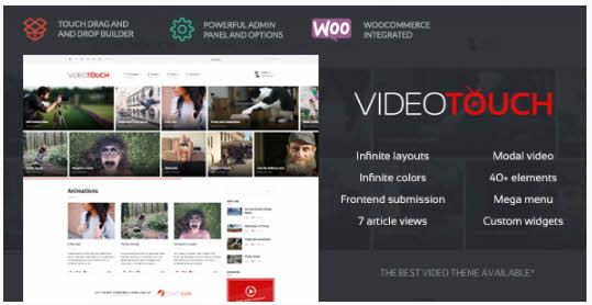 VideoTouch - Video WordPress Theme