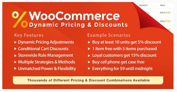 [워드프레스] 가격과 할인율을 마음대로 설정할 수 있는 WooCommerce Dynamic Pricing & Discounts 플러그인
