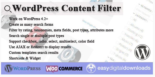 WordPress Content Filter