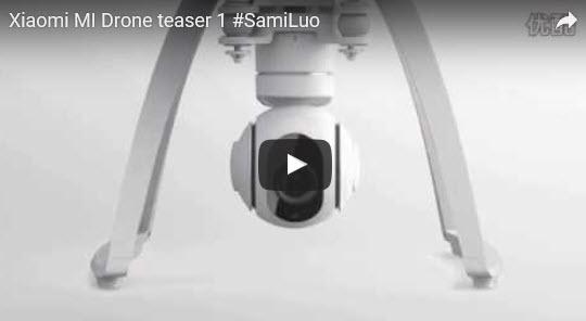 Xiaomi MI Drone teaser 1  - シャオ米無人偵察機(Xiaomi MI Drone)公式映像