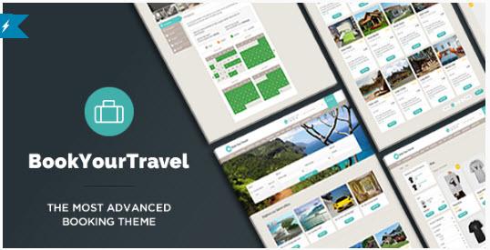 Book Your Travel - 온라인 여행 예약용 워드프레스 테마