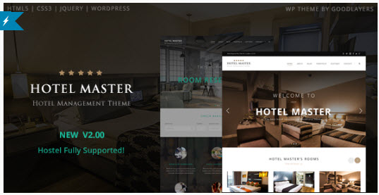 Hotel Master - Hotel & Hostel Booking WordPress Theme