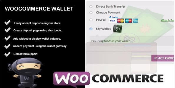 Wallet - Woocommerce Account Deposit & Payment