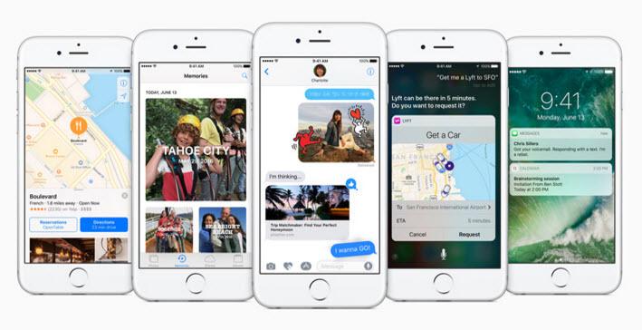 Apple에서 iOS 10 프리뷰를 공개했습니다.