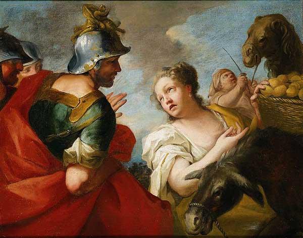 다윗과 아비가일 | Antonio Molinari