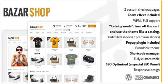BazarShop  -  WordPress WooCommerce テーマ