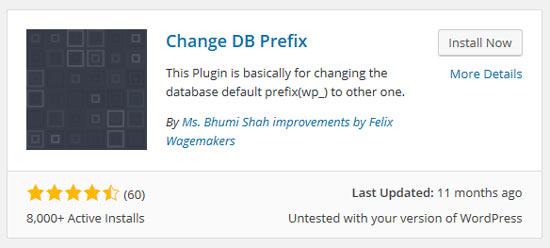 워드프레스 DB Prefix 일괄 변경하기