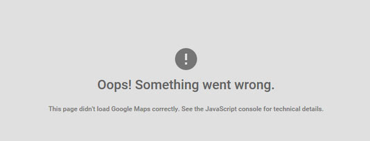 Google-Map-error
