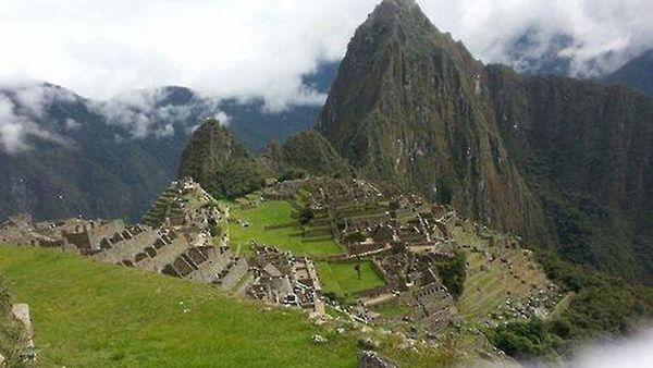 インカ後期の遺跡であるマチュピチュ。 写真:SBS