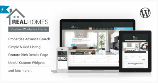 Real Homes - premium WordPress real estate theme