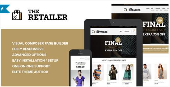 The-Retailer  -  WordPress WooCommerce テーマ