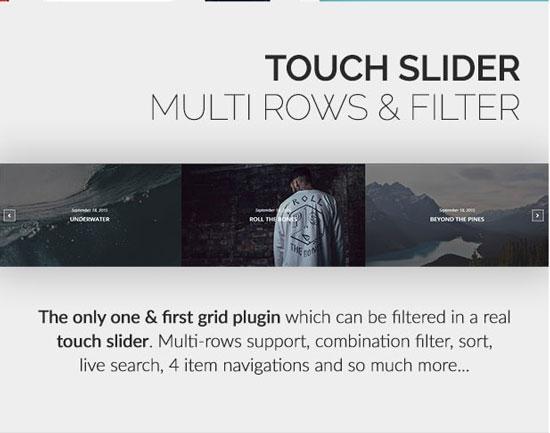 Touch Slider