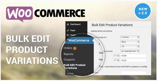 WooCommerce 商品情報一括編集