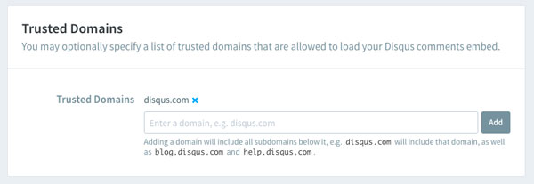 Disqus에서 'We were unable to load Disqus' 오류가 발생하는 경우