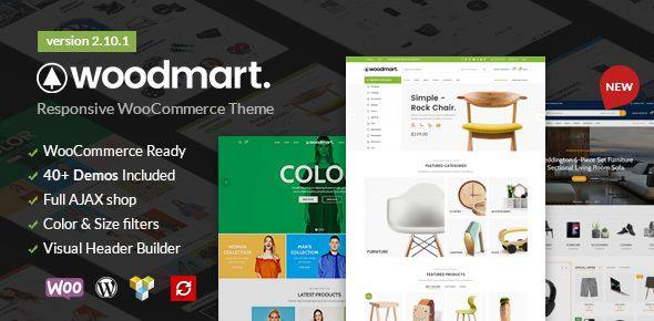WoodMart WordPress WooCommerce テーマ
