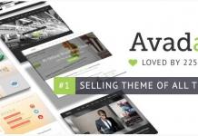 Avada ベストセラー WordPress テーマ