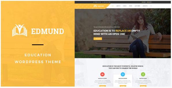 새로운 워드프레스 교육용 테마 – Edmund