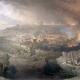 예루살렘 포위 공격과 멸망(The Siege and Destruction of Jerusalem),  David Roberts (1850). Photo by Wikipedia