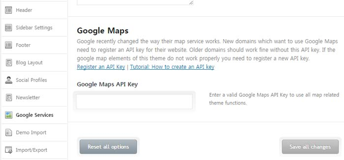 [워드프레스] Enfold 테마 업데이트 – Google Maps API 키 문제 해결