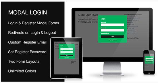 Modal-Login-Register-Forgotten-Wordpress-Plugin