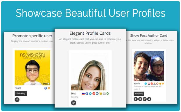UserPro - 아름다운 사용자 프로필 화면을 제공합니다. UserPro는 사용자 프로필뿐만 아니라 소셜 로그인 기능이 통합된 강력한 플러그인입니다.
