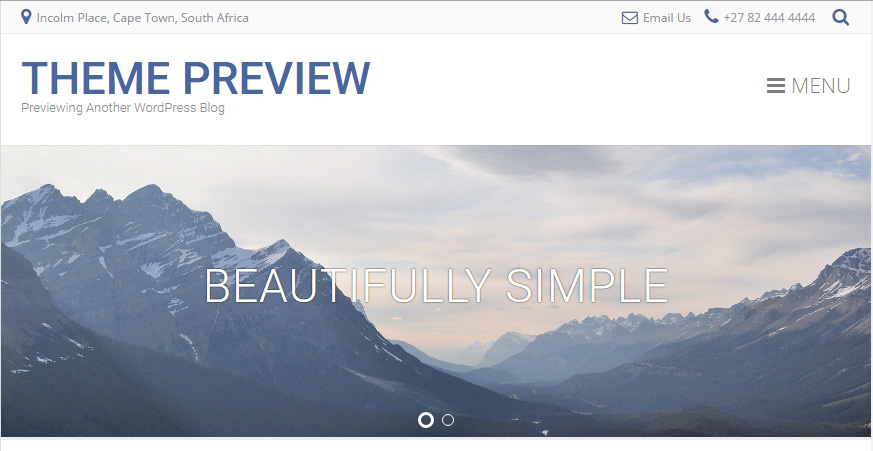 Albar-WordPress-Theme