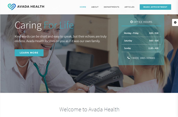아바다 Health 데모