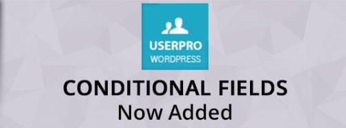 UserPro - 조건부 필드(워드프레스)
