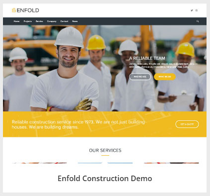 Enfold Construction 데모