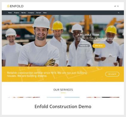 Enfold Construction 데모