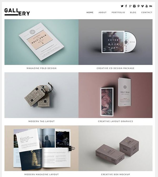 Gallery-Theme