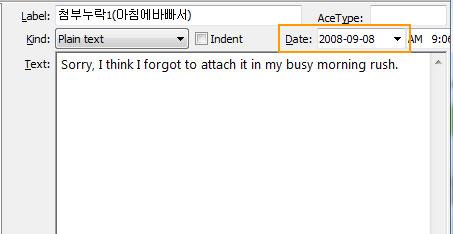 Memo-using-AceText