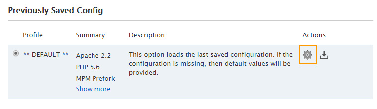 previously-saved-config