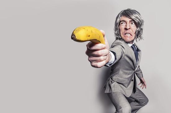 바나나를 든 사나이