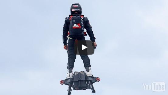 현대판 이카로스를 꿈꾸는 1인용 비행체(호브보드)